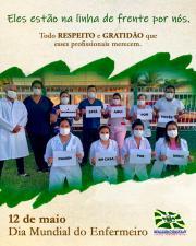 Profissionais da Saúde engajados na luta!